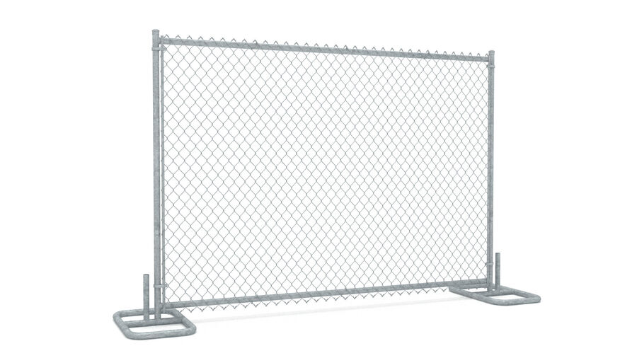 Fences Gate Door royalty-free 3d model - Preview no. 73
