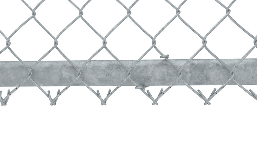 Fences Gate Door royalty-free 3d model - Preview no. 69