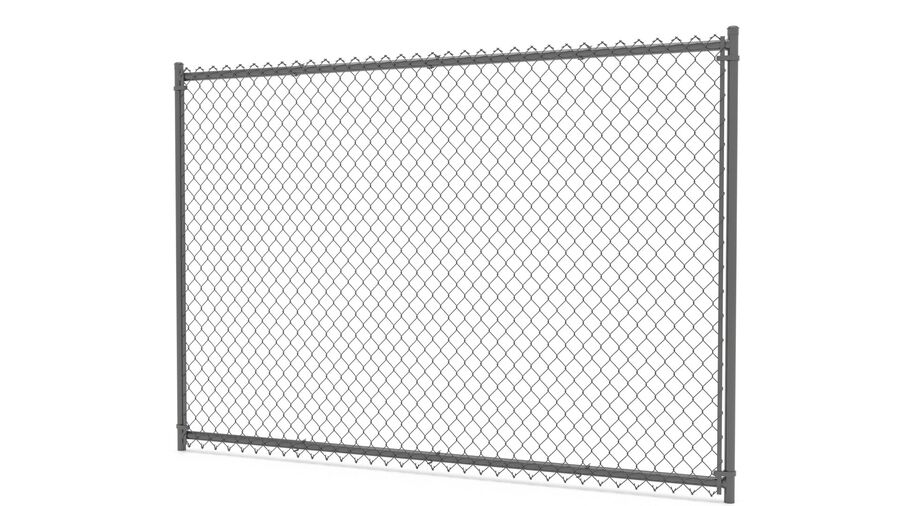 Fences Gate Door royalty-free 3d model - Preview no. 7
