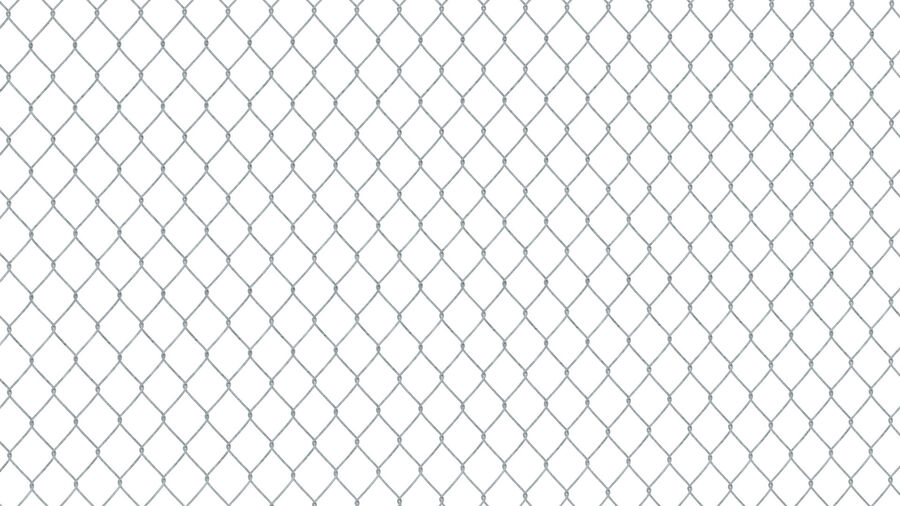 Fences Gate Door royalty-free 3d model - Preview no. 72