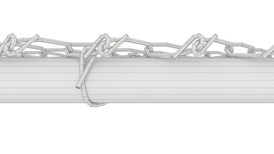 Fences Gate Door royalty-free 3d model - Preview no. 16