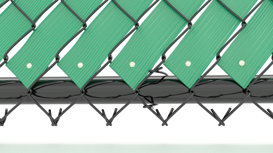 Fences Gate Door royalty-free 3d model - Preview no. 51