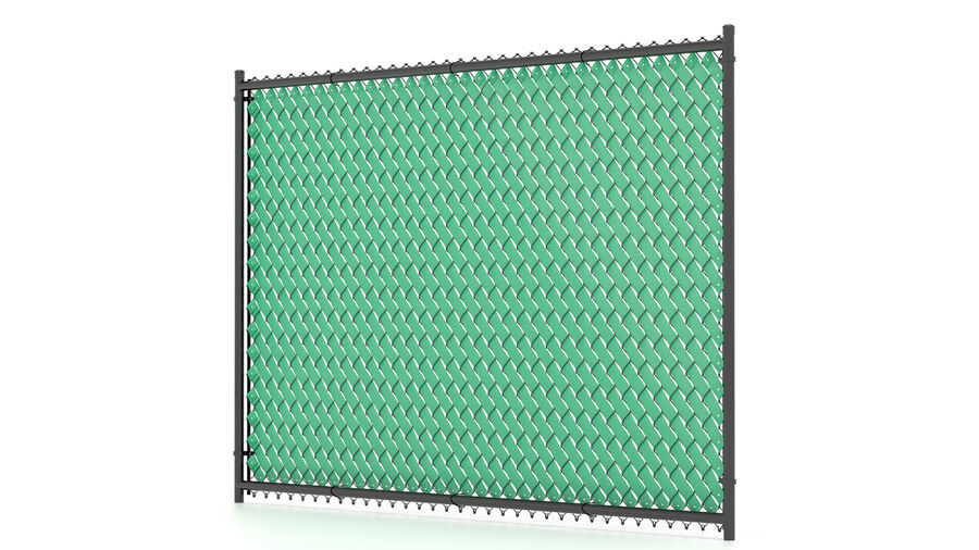 Fences Gate Door royalty-free 3d model - Preview no. 47