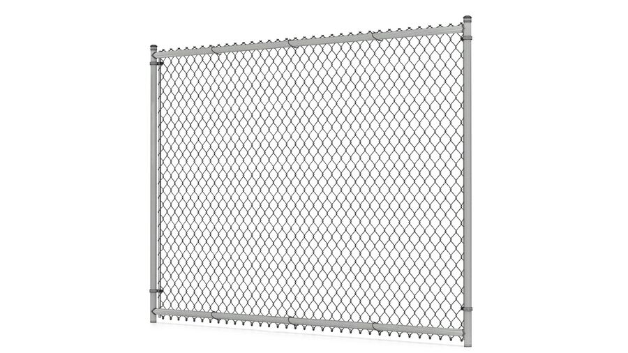 Fences Gate Door royalty-free 3d model - Preview no. 15