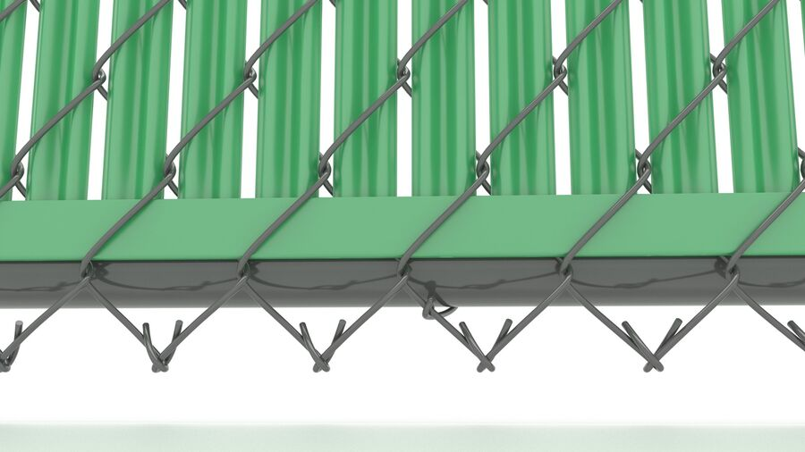 Fences Gate Door royalty-free 3d model - Preview no. 31