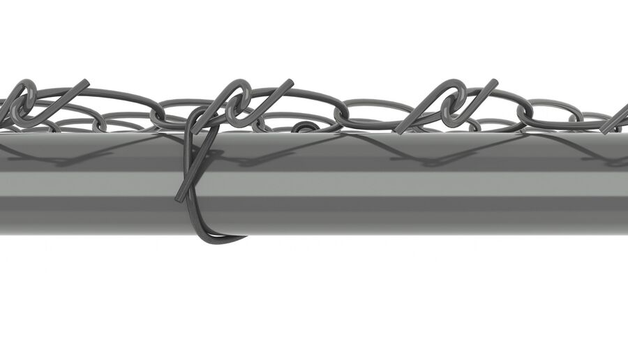 Fences Gate Door royalty-free 3d model - Preview no. 6