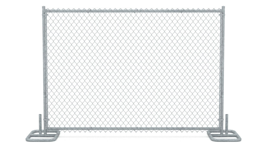 Fences Gate Door royalty-free 3d model - Preview no. 63