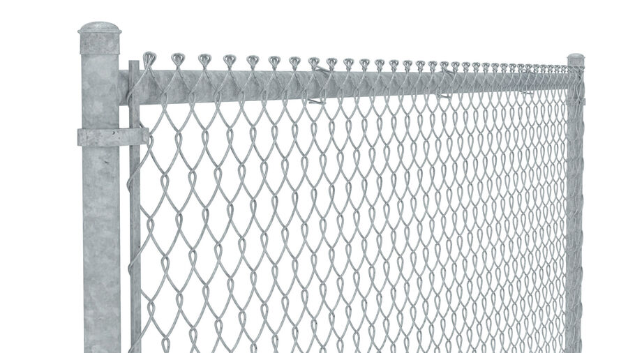 Fences Gate Door royalty-free 3d model - Preview no. 70