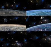 天の川銀河 3d model