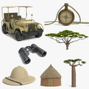 Safari Collection 3d model