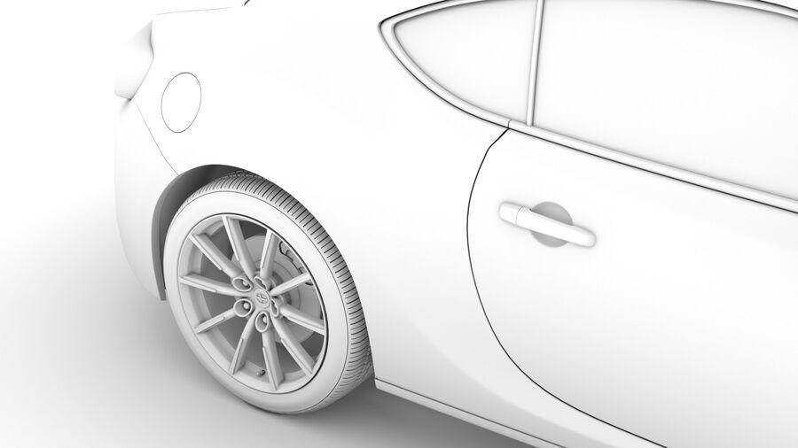Vástago FR-S 2016 royalty-free modelo 3d - Preview no. 26