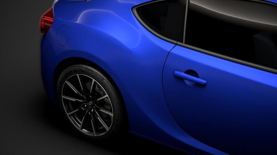 Vástago FR-S 2016 royalty-free modelo 3d - Preview no. 12