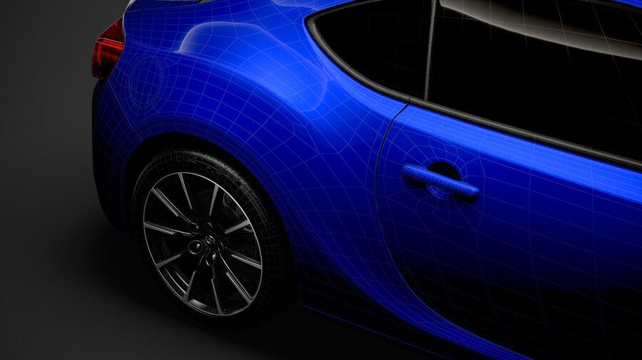 Vástago FR-S 2016 royalty-free modelo 3d - Preview no. 40