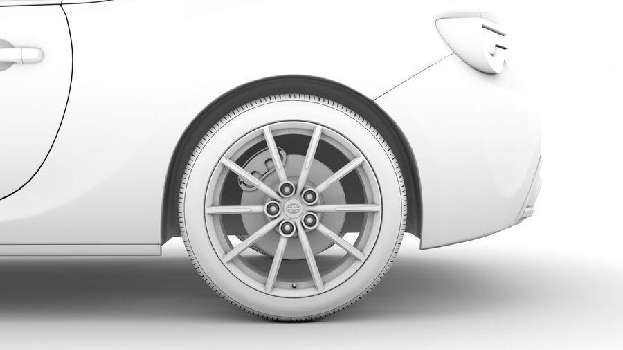 Vástago FR-S 2016 royalty-free modelo 3d - Preview no. 22