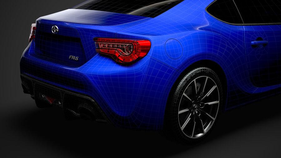 Vástago FR-S 2016 royalty-free modelo 3d - Preview no. 39