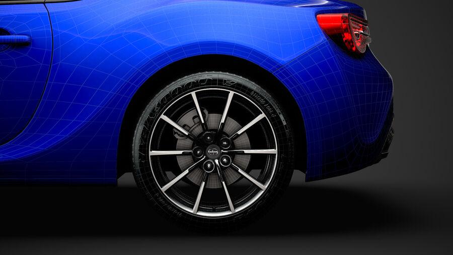 Vástago FR-S 2016 royalty-free modelo 3d - Preview no. 36