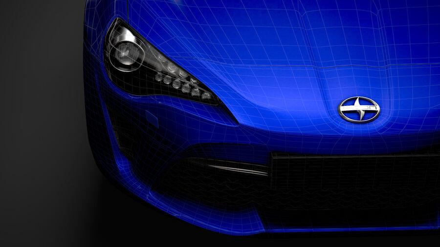 Vástago FR-S 2016 royalty-free modelo 3d - Preview no. 38
