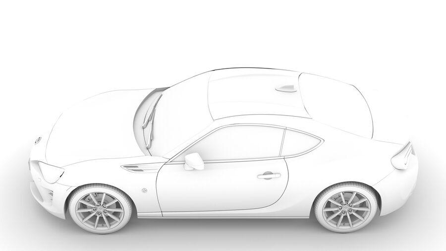 Vástago FR-S 2016 royalty-free modelo 3d - Preview no. 19