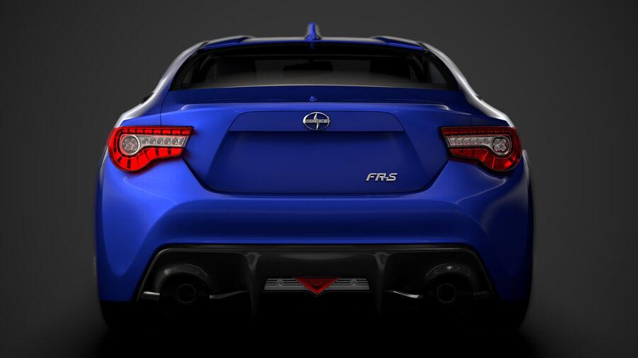 Vástago FR-S 2016 royalty-free modelo 3d - Preview no. 14
