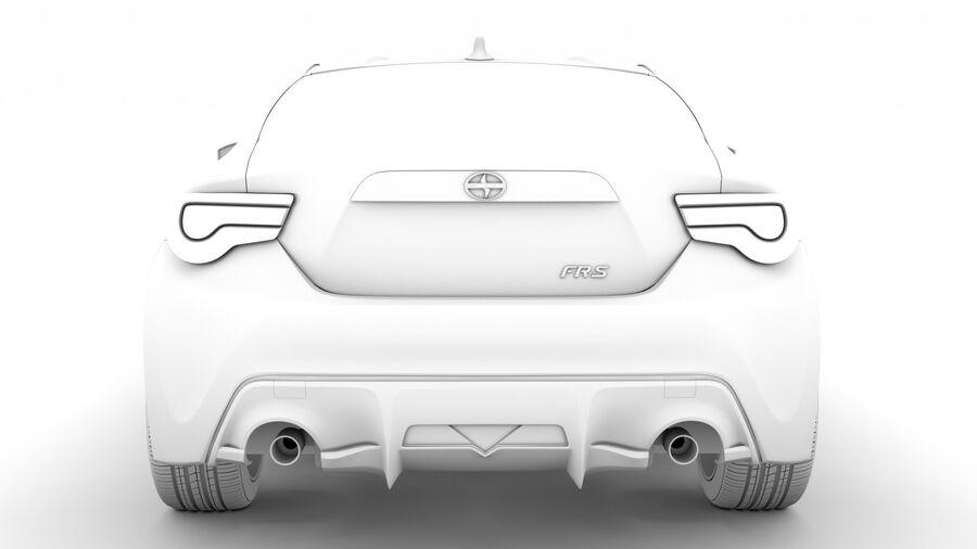 Vástago FR-S 2016 royalty-free modelo 3d - Preview no. 28