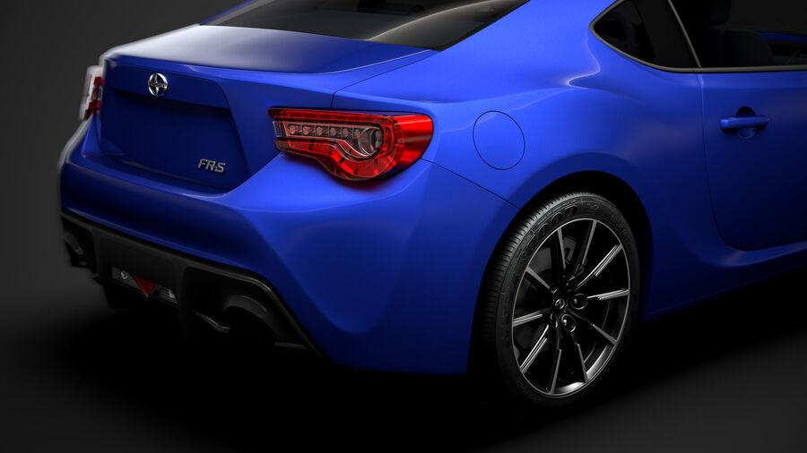 Vástago FR-S 2016 royalty-free modelo 3d - Preview no. 11