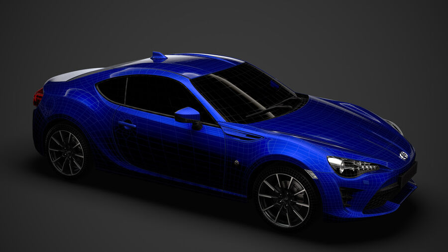 Vástago FR-S 2016 royalty-free modelo 3d - Preview no. 41