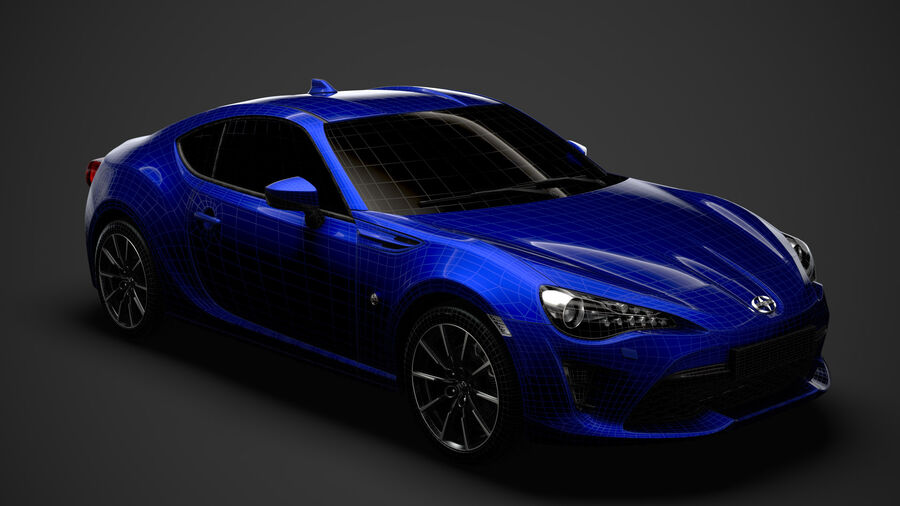 Vástago FR-S 2016 royalty-free modelo 3d - Preview no. 29