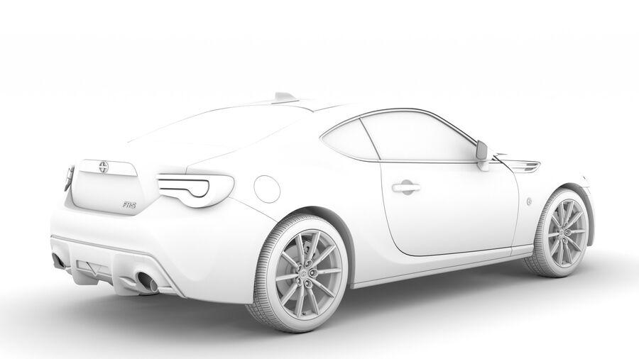 Vástago FR-S 2016 royalty-free modelo 3d - Preview no. 17