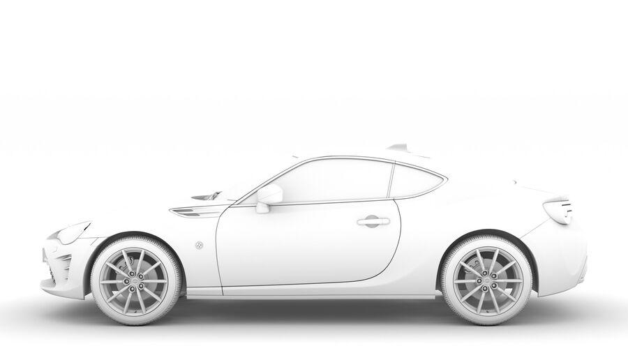 Vástago FR-S 2016 royalty-free modelo 3d - Preview no. 20