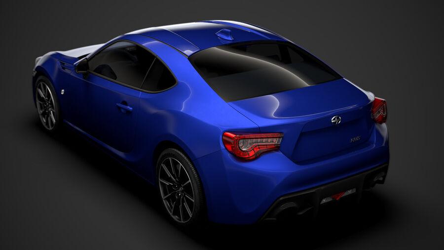 Vástago FR-S 2016 royalty-free modelo 3d - Preview no. 4