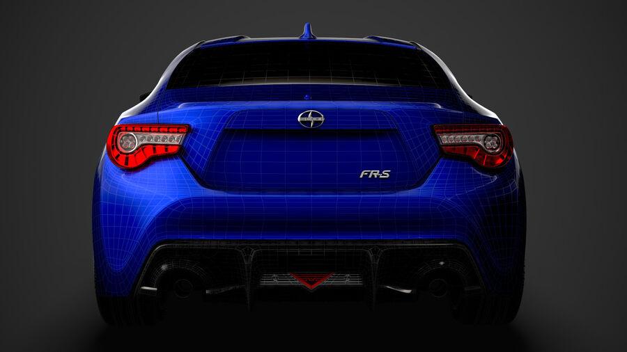 Vástago FR-S 2016 royalty-free modelo 3d - Preview no. 42
