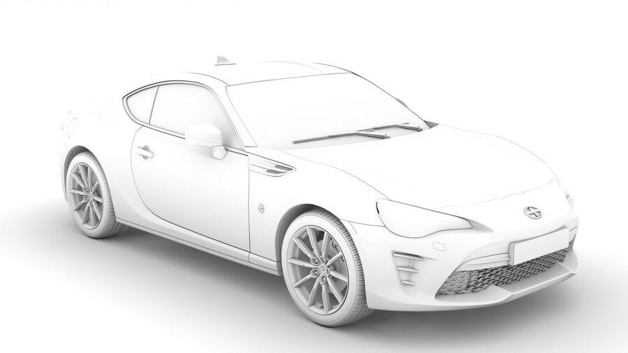 Vástago FR-S 2016 royalty-free modelo 3d - Preview no. 15