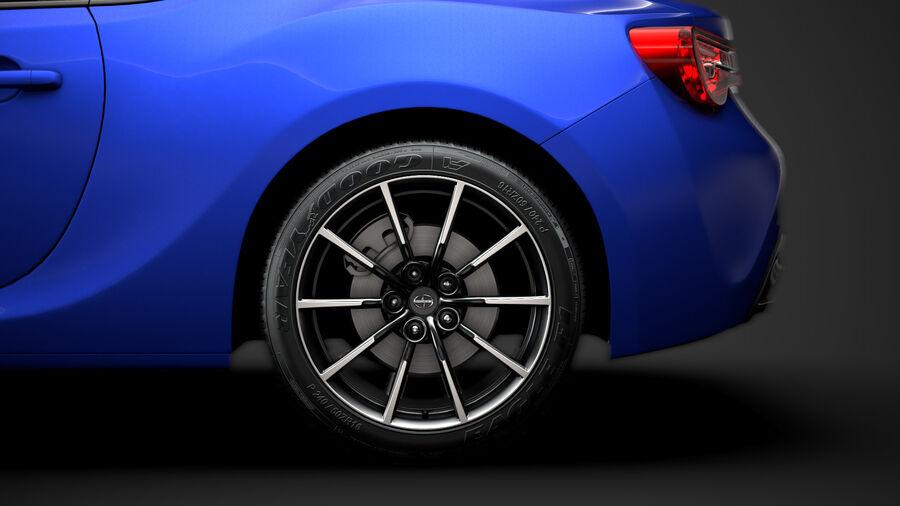 Vástago FR-S 2016 royalty-free modelo 3d - Preview no. 8
