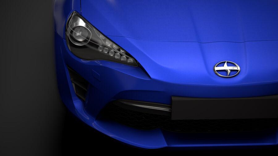 Vástago FR-S 2016 royalty-free modelo 3d - Preview no. 10