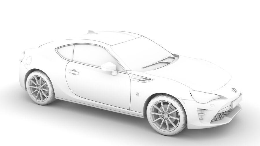 Vástago FR-S 2016 royalty-free modelo 3d - Preview no. 27