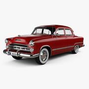 닷지 코로 넷 세단 1953 3d model