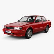 Nissan Sentra SE-R cupé 1990 modelo 3d