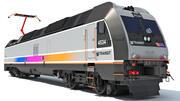 NJ Transit Locomotive Train 3d model