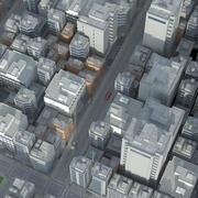 近代都市 3d model