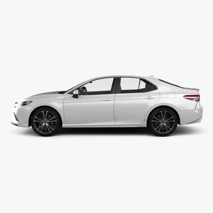 도요타 캠리 SE 2018 royalty-free 3d model - Preview no. 5