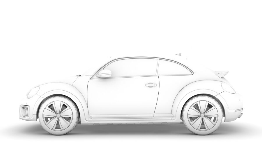VW Beetle Dune 2020 royalty-free modelo 3d - Preview no. 20