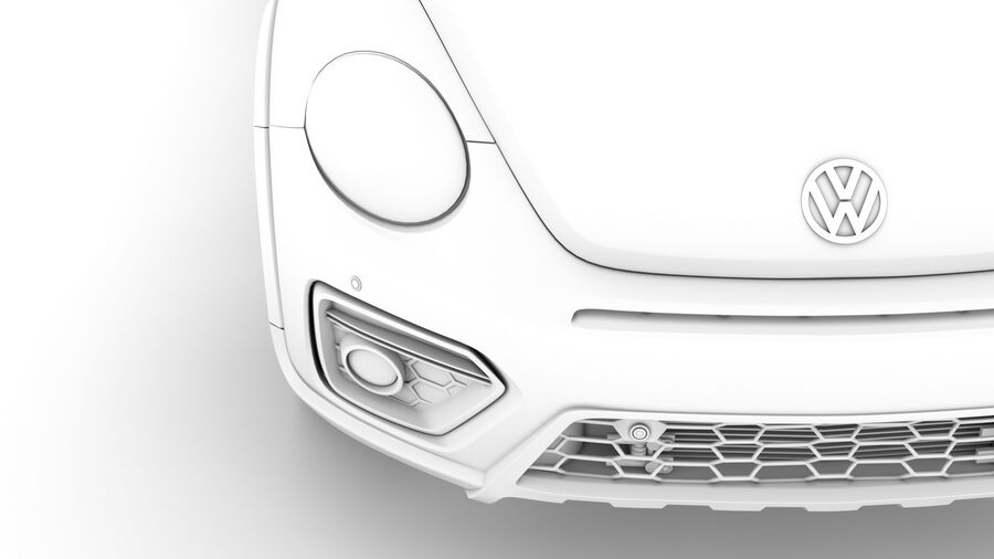 VW Beetle Dune 2020 royalty-free modelo 3d - Preview no. 24