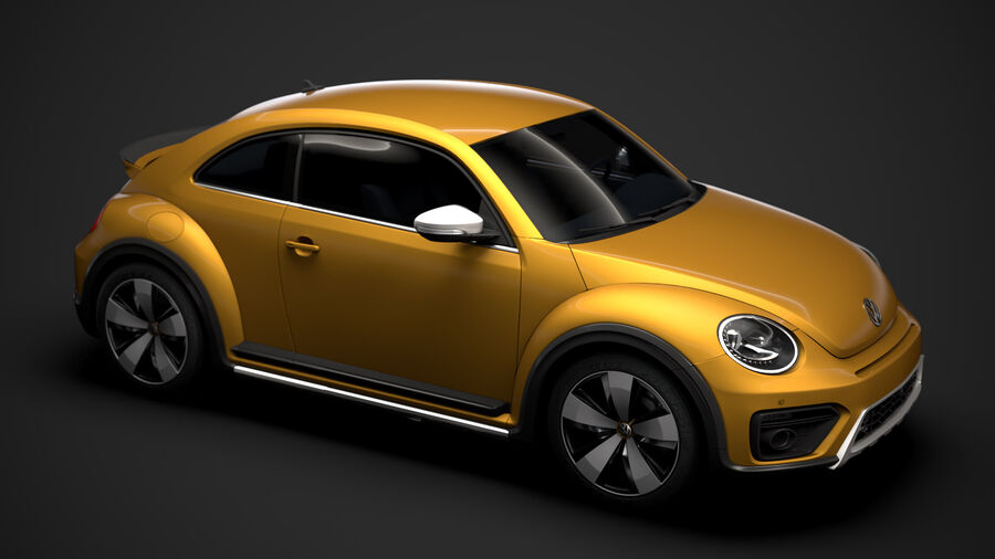 VW Beetle Dune 2020 royalty-free modelo 3d - Preview no. 13