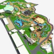 Parque de Diversões 1 3d model