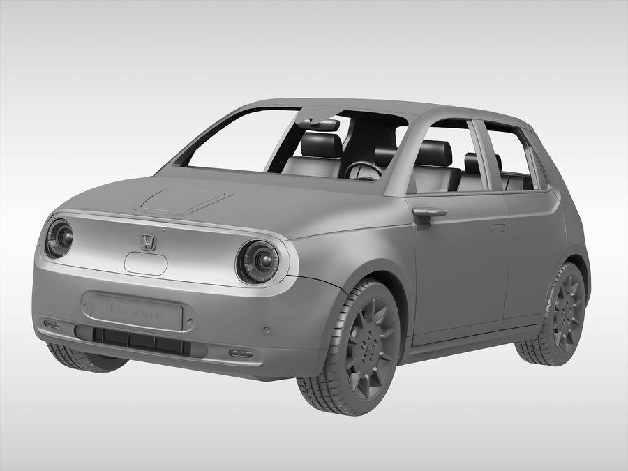 혼다 e (2021 년) royalty-free 3d model - Preview no. 7
