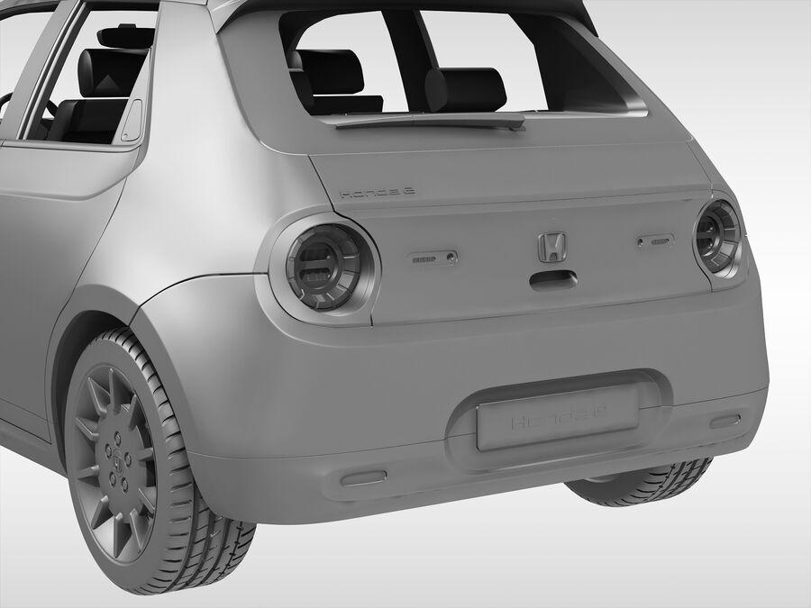 혼다 e (2021 년) royalty-free 3d model - Preview no. 11