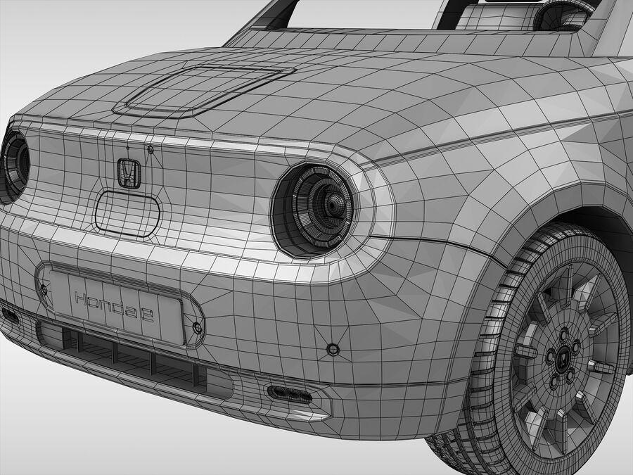 혼다 e (2021 년) royalty-free 3d model - Preview no. 15