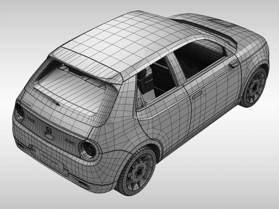 혼다 e (2021 년) royalty-free 3d model - Preview no. 14