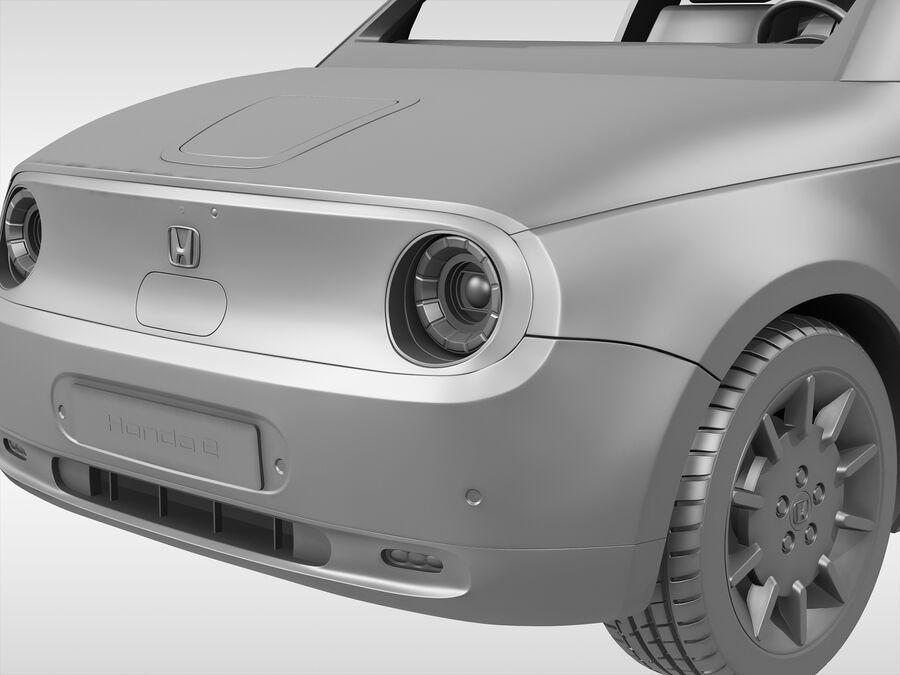 혼다 e (2021 년) royalty-free 3d model - Preview no. 10