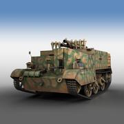 Bren Gun Carrier - BUC - tyska armén 3d model